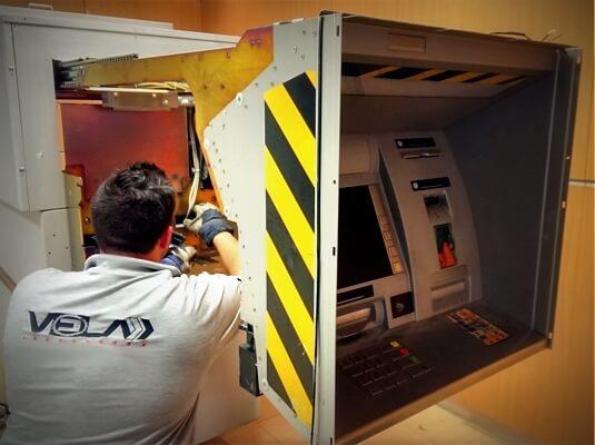 Instalación y Anclaje de Cajeros Automáticos