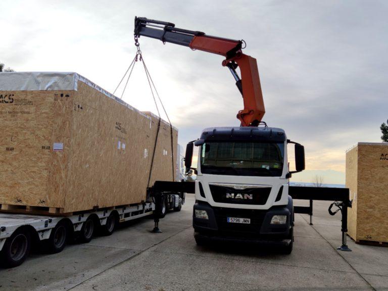 Transporte de Maquinaria Pesada en Leganés