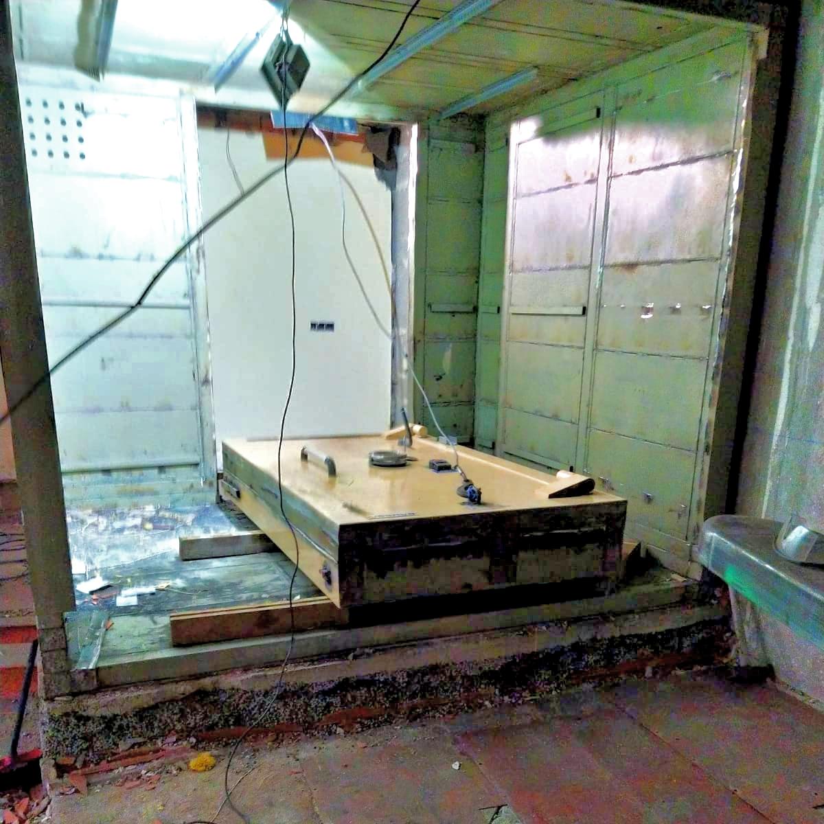 Desmontar y Retirar Cámara Acorazada en Alcorcón