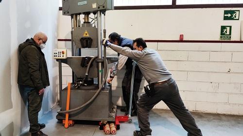Traslado de Máquinas de Ensayo de Laboratorio en Valladolid