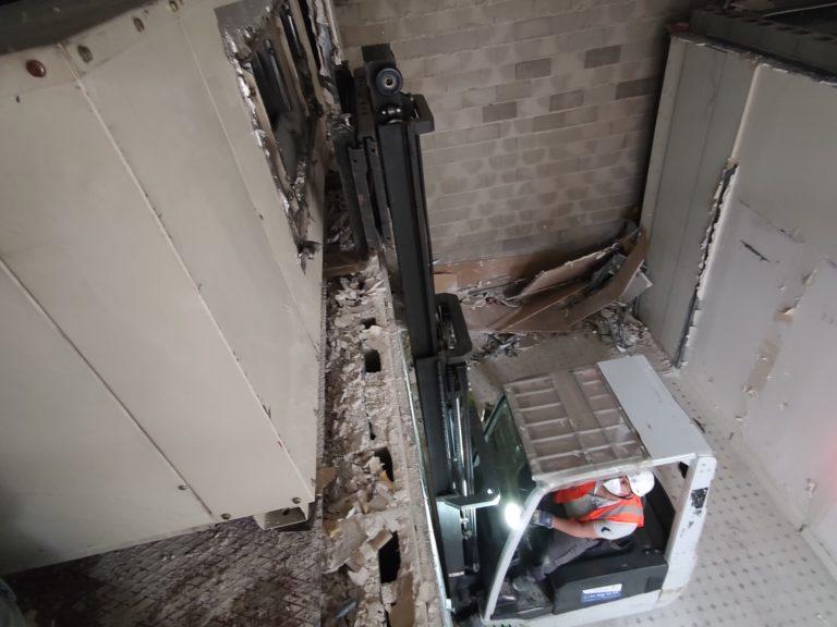 Retirada de aire acondicionado industrial en Torrejón de Ardoz