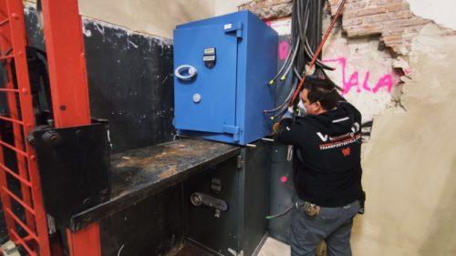 Elevación de Cajas Fuertes en Getafe