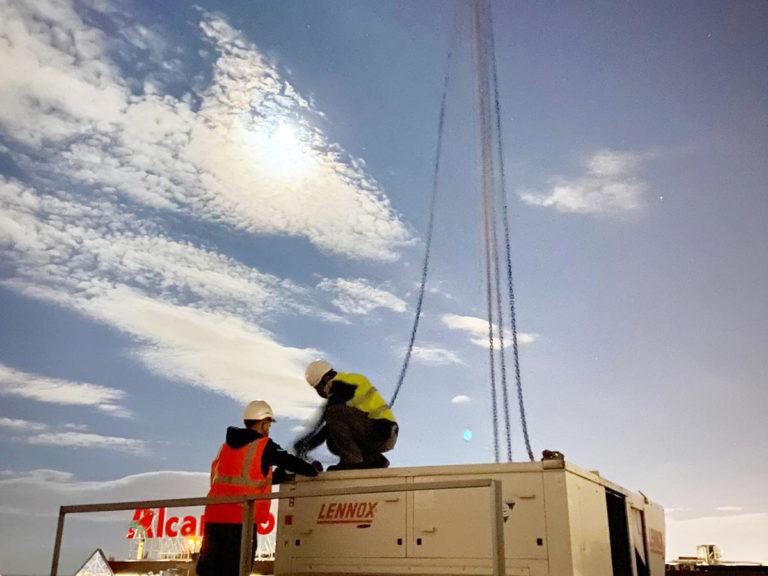 Retirada y transporte de aire acondicionado en Torrejón de Ardoz